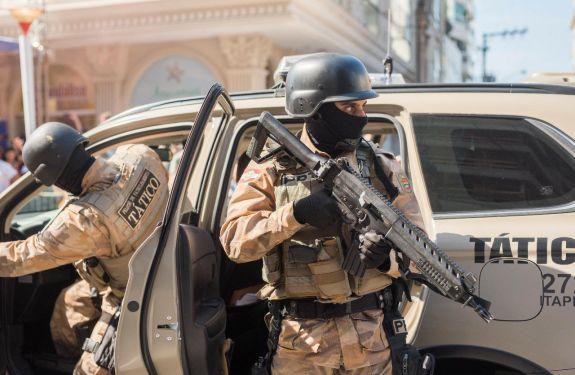 12º Batalhão da PM já conta com reforço na operação veraneio