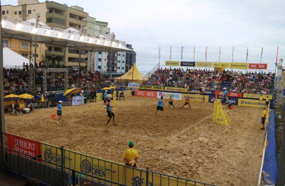 Torneiro Brasileiro de Vôlei de Praia foi sucesso em Itapema