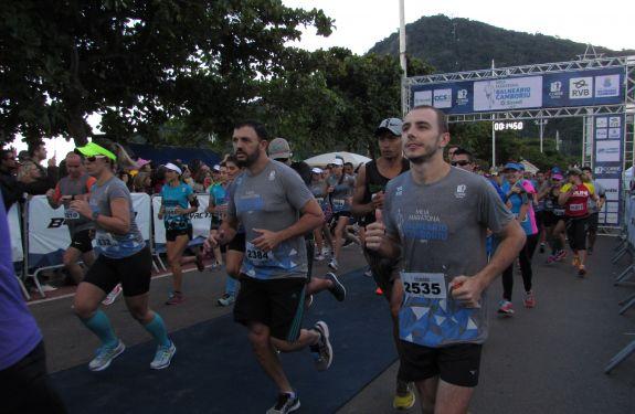 4,5 mil corredores participarão da Meia Maratona de BC
