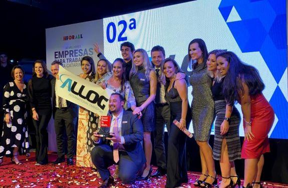 Allog é a segunda melhor empresa para trabalhar em Santa Catarina