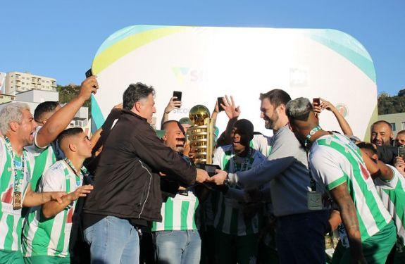 O Almirante Barroso conquistou o Bi Campeonato Catarinense