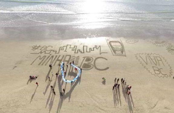 Aniversário de BC começa com homenagem na Praia Central