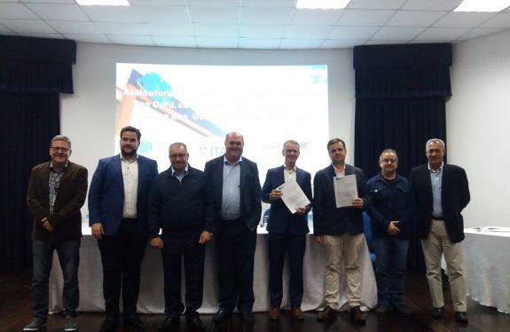 Assinado Aditivo Contratual para conclusão da primeira etapa das Obras da Bacia de Evolução.