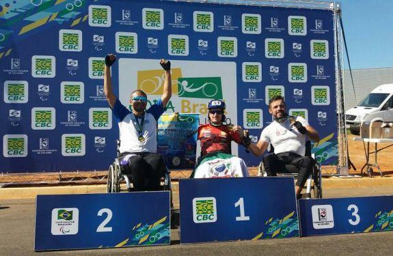 Atleta de Camboriú é campeão da Copa Brasil de Paraciclismo