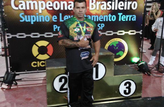 Atleta de Camboriú irá participar de competição nacional