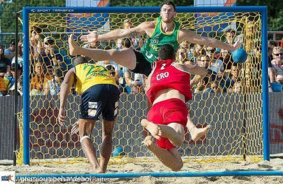 Atleta de Itajaí é convocado para a Seleção Brasileira de Handebol de Areia