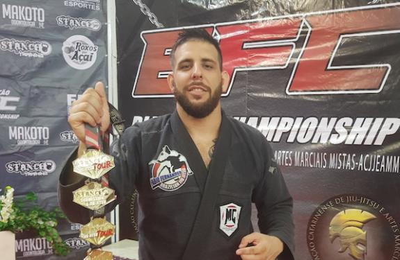 Atleta de Itajaí participará do Pan-Americano de Jiu-Jitsu 2018