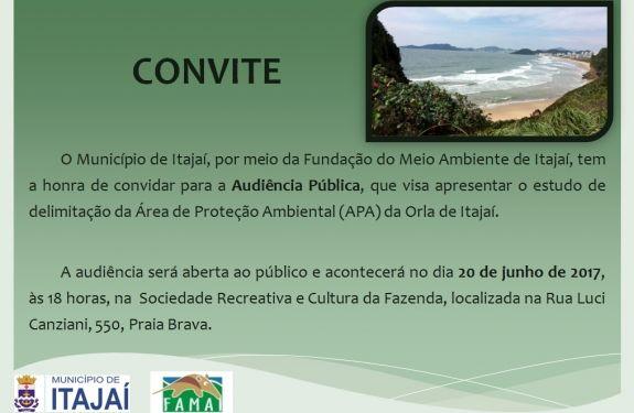 Audiência aberta à comunidade discutirá limite de área em praias
