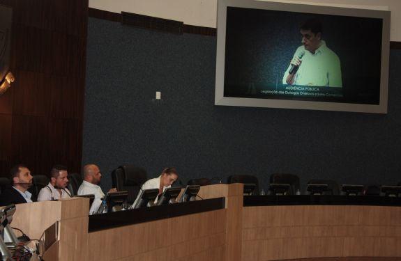 Audiência debate outorgas onerosas na Câmara de Vereadores de ITJ