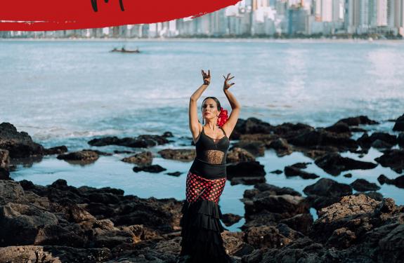 Bailarina de Balneário Camboriú vai estudar flamenco na Espanha