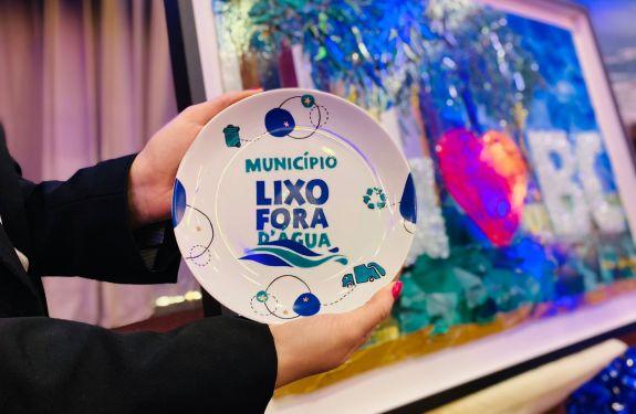 BC: Primeira cidade brasileira a receber o Selo Lixo Fora D'Água