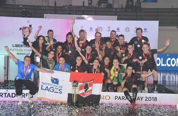 Balneário Camboriú sedia Libertadores de Futsal Feminino