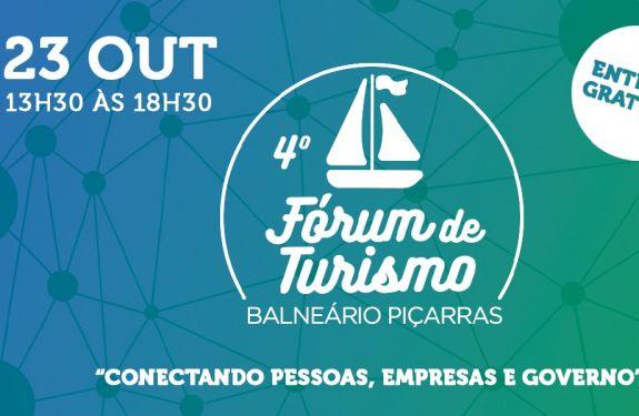 Balneário Piçarras apresenta programação do 4º Fórum de Turismo
