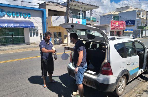 Piçarras auxilia famílias vulneráveis e moradores de rua...