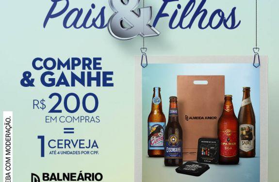 Balneário Shopping presenteará pais com cervejas artesanais