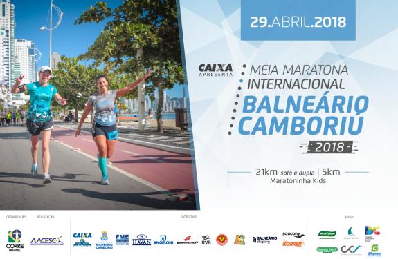 Balneário Shopping: ponto de retirada de kits da Meia Maratona