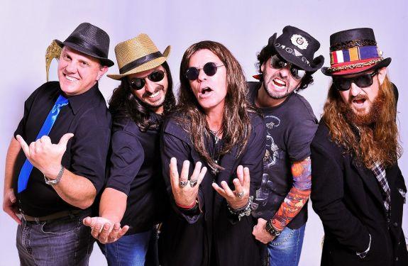 Banda Ísis estreia no palco do Didge trazendo o melhor do classic rock