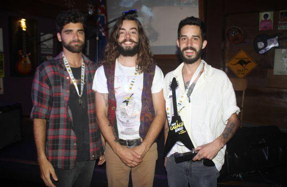 Banda Sabatana Trio é a grande vencedora do Didge Garage Band 2019