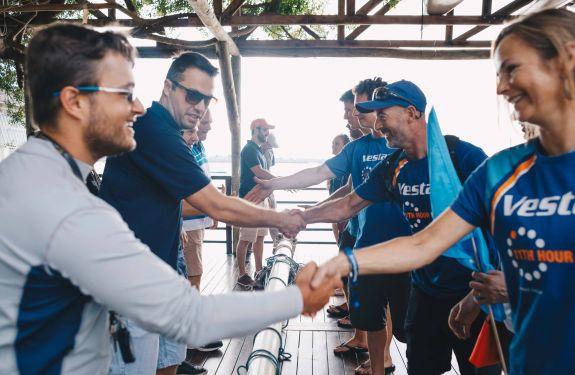 Barcos da Volvo Ocean Race partem, mas deixam legado em Itajaí