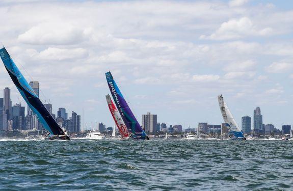 Barcos da Volvo Ocean Race partem para Hong Kong