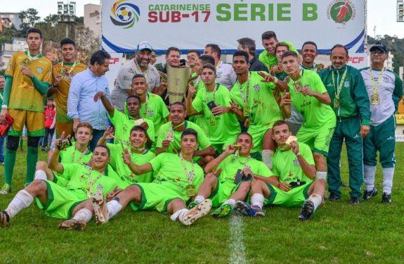 Barroso é Bicampeão do Sub-17 Série B
