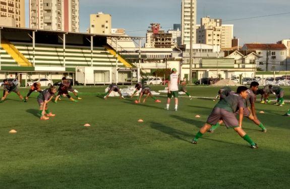 Barroso intensifica treinos para série B Catarinense