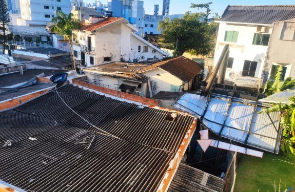 BC: Defesa Civil está cadastrando moradores que sofreram danos com o ciclone