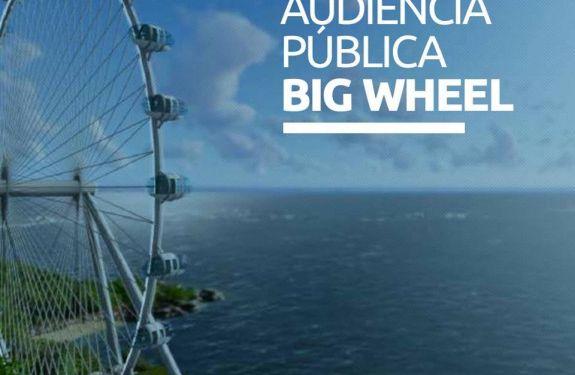 BC: Hoje tem Audiência Pública sobre a Big Wheel