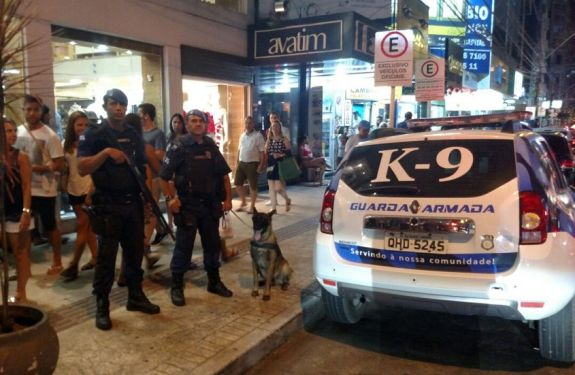 BC: K9 da Guarda Municipal localiza homem desaparecido