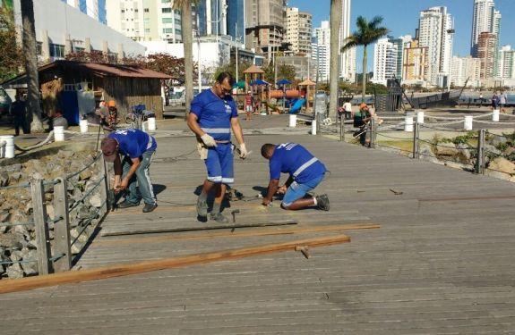 BC: Molhe da Barra Sul é revitalizado