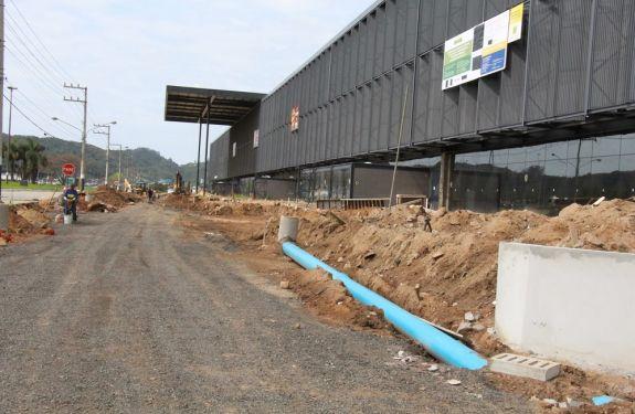 BC: Município intensifica obras no entorno do Centro de Eventos