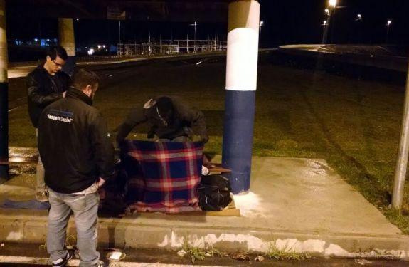 BC: Operação Frente Fria acolhe mais de 20 pessoas na madrugada