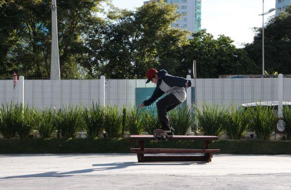 BC participa de competição nacional de skate amador