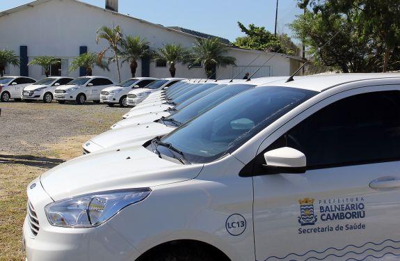 BC: Secretarias Municipais recebem 22 novos veículos