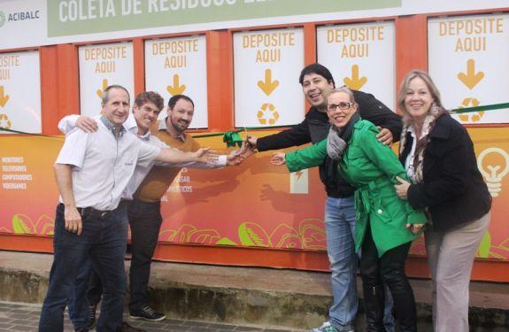 BC tem o primeiro Ecoponto fixo de descarte de resíduos eletrônicos