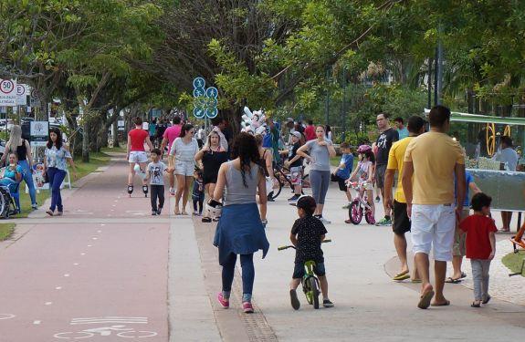 Beira-rio será fechada neste feriado para lazer em Itajaí
