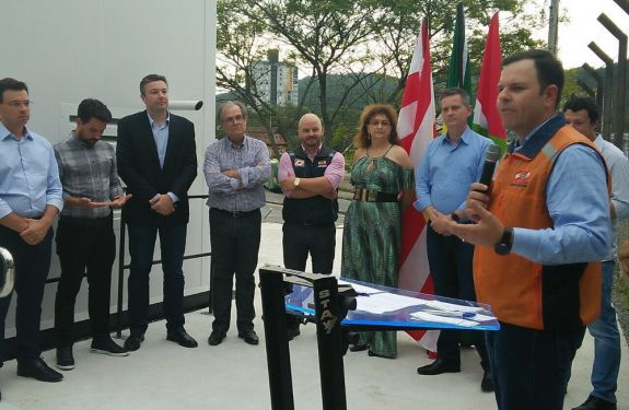 Blumenau inaugura primeiro centro da Defesa Civil de SC
