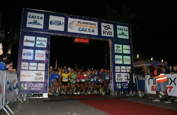 Blumenau recebe corrida noturna em setembro