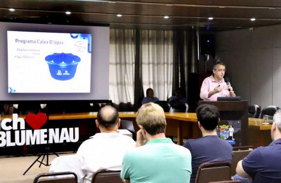Blumenau: Samae anuncia investimentos de R$ 50,4 milhões até 2020