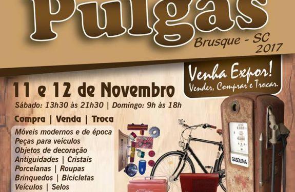 7bf9623f6f3 Brusque promove 10º Mercado de Pulgas - Manchete do Vale