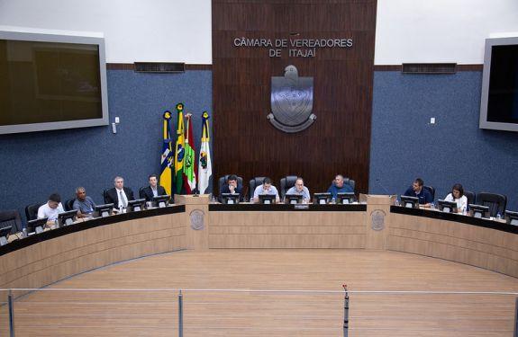 Câmara de Itajaí - Audiência sobre contribuição da previdência