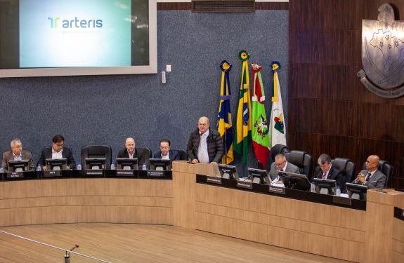 Câmara de Itajaí recebe audiência pública sobre problemas na BR-101 e BR-470