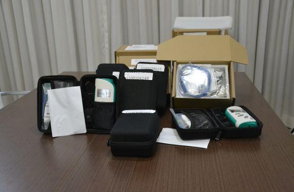Camboriú recebe 8 oxímetros portáteis do Ministério da Saúde