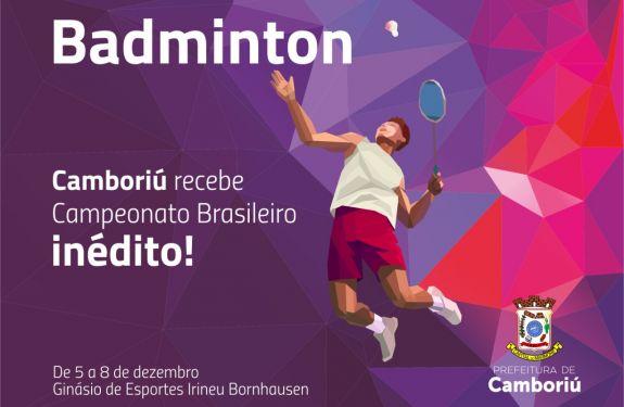 Camboriú sediará o Campeonato Brasileiro de Badminton