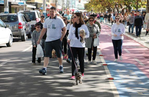 Caminhada arrecada fundos para a ONG Viva Bicho em BC