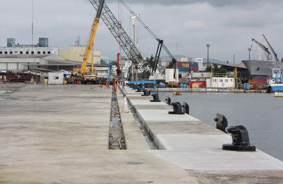 Capacidade de carga do Porto de Itajaí triplica com berços 1 e 3