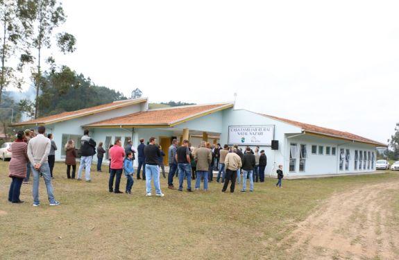 Casa Familiar Rural é inaugurada e já tem atividades marcadas para agosto