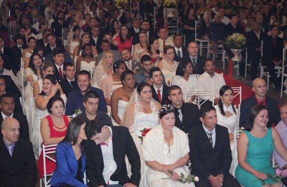ITJ: Casamento Coletivo realiza sonho de 78 casais neste sábado