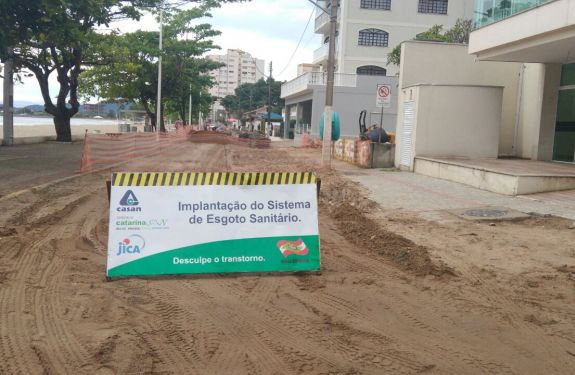 Casan termina implantação de redes em Balneário Piçarras