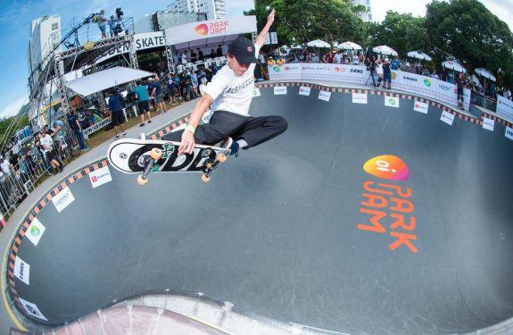 Catarinense é campeão do Skate Park Internacional que aconteceu na Brava em Itajaí